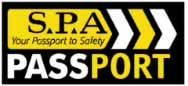 SPA Safety Passport Accreditation Badge