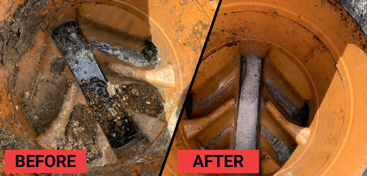 Case Study – Blocked Soil Stack Pipe