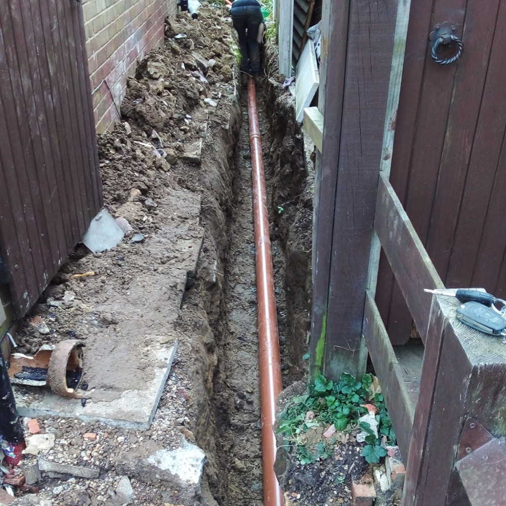 Pitch Fibre Pipe Repair / Rerounding
